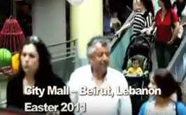 Jesus is risen – flash mob in Beirut