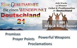 Prophetischer Gebetsaufruf von Kay Chance für einen Wendepunkt in Deutschland 2021